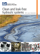Clean and Leak-Free Hydraulic Systems