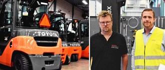 Increased efficiency at FMC since Toyota implemented WEO for their forklift trucks
