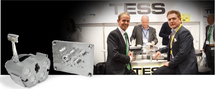 Lars-Otto Fredriksen Technical Sales Manager TESS & Tommy Halvorsen Sales Manager CEJN Norden, meeting up at the Subsea Valley Conference & Fair, Oslo 2015