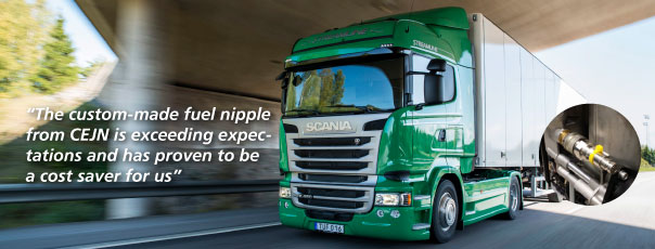CEJN Assists Scania with Optimisation