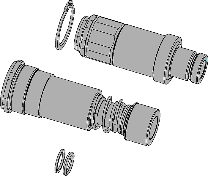 Multi-X Coupling and Nipple Kits