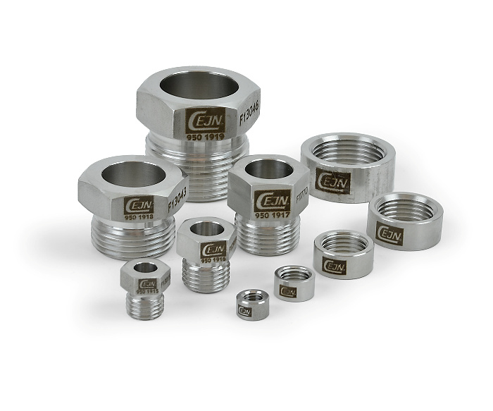 MP Collar and Gland Nuts, Stainless Steel
